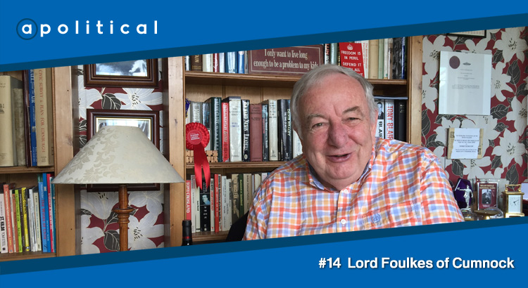 Episode 14 - Lord Foulkes of Cumnock