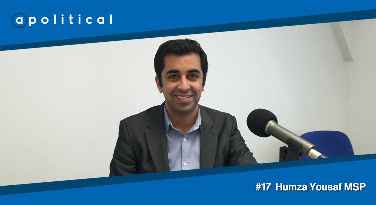 Episode 17 - Humza Yousaf MSP