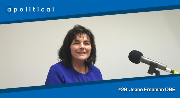 Episode 29 - Jeane Freeman OBE