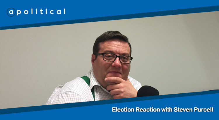 Episode 40 - Election Reaction with Steven Purcell